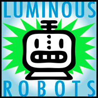 Luminous Robots web design and graphics
