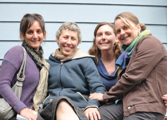 My Integrative Care/Wellness  Healing Team (Amy, me, Jessica, Zena)
